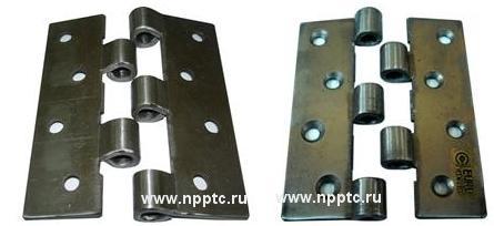 Линия для производства петель дверных: изготовление правой и левой полупетли, калибровка, сборка и блистерная упаковка